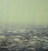 "Image of Catherine Stringer's painting ""Gentle Sands""."