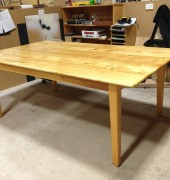 Huon pine dining table