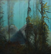 "Image of Catherine Stringer's painting ""Sojourn""."