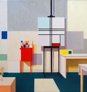 The Studio - oil on Belgian Linen 92x153cm