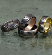Image of David Parums Design ring collection
