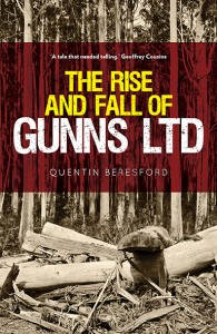 Rise and Fall of Gunns book cover