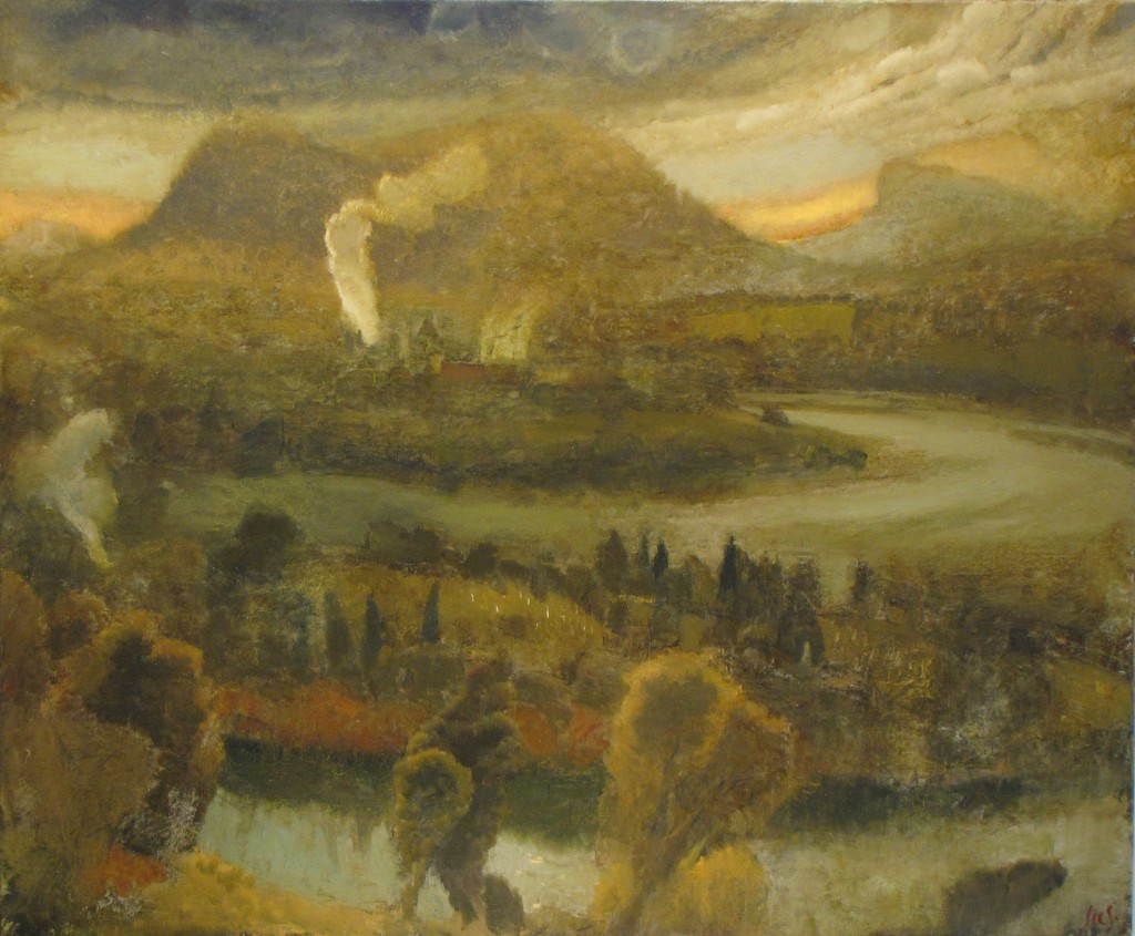 Oil Changing Places >> Stephen Lees - Changing Places - Tasmanian Arts Guide