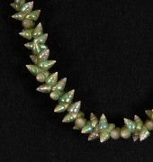 Tradition green mariner shell necklace by Jeanette James