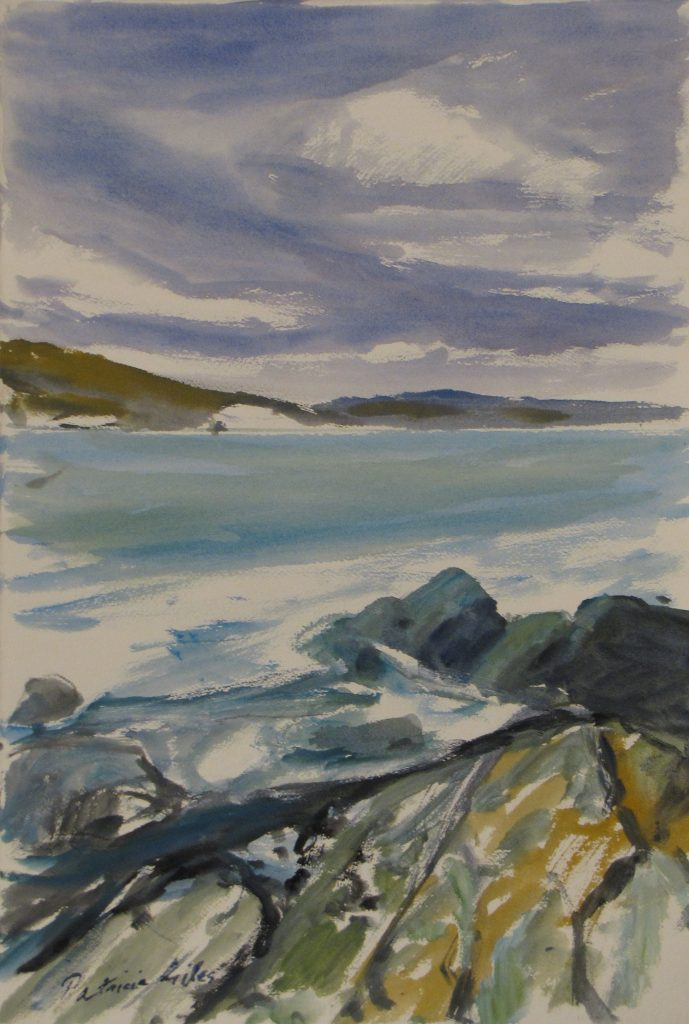 Blinking Billy Point, 56 x 38cm, Patricia Giles