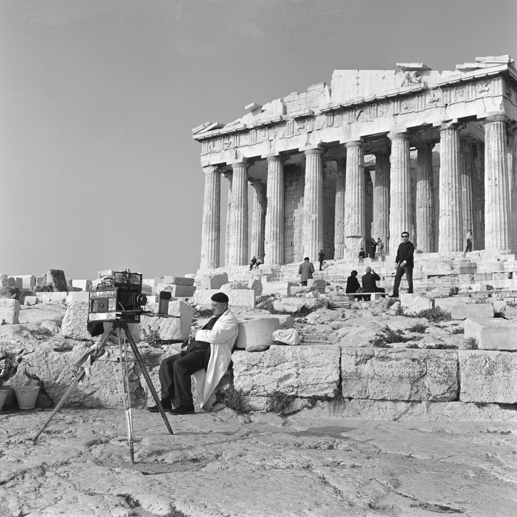 Tintype Photographer, Parthenon, Athens