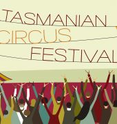 Image of the Tasmanian Circus Festival poster