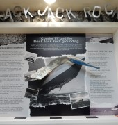 Black Jack Rock display