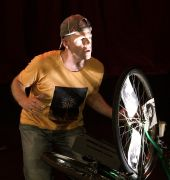 Pedalling Back at the Theatre Royal Backspace