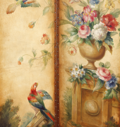 Image of 19th century folding screen