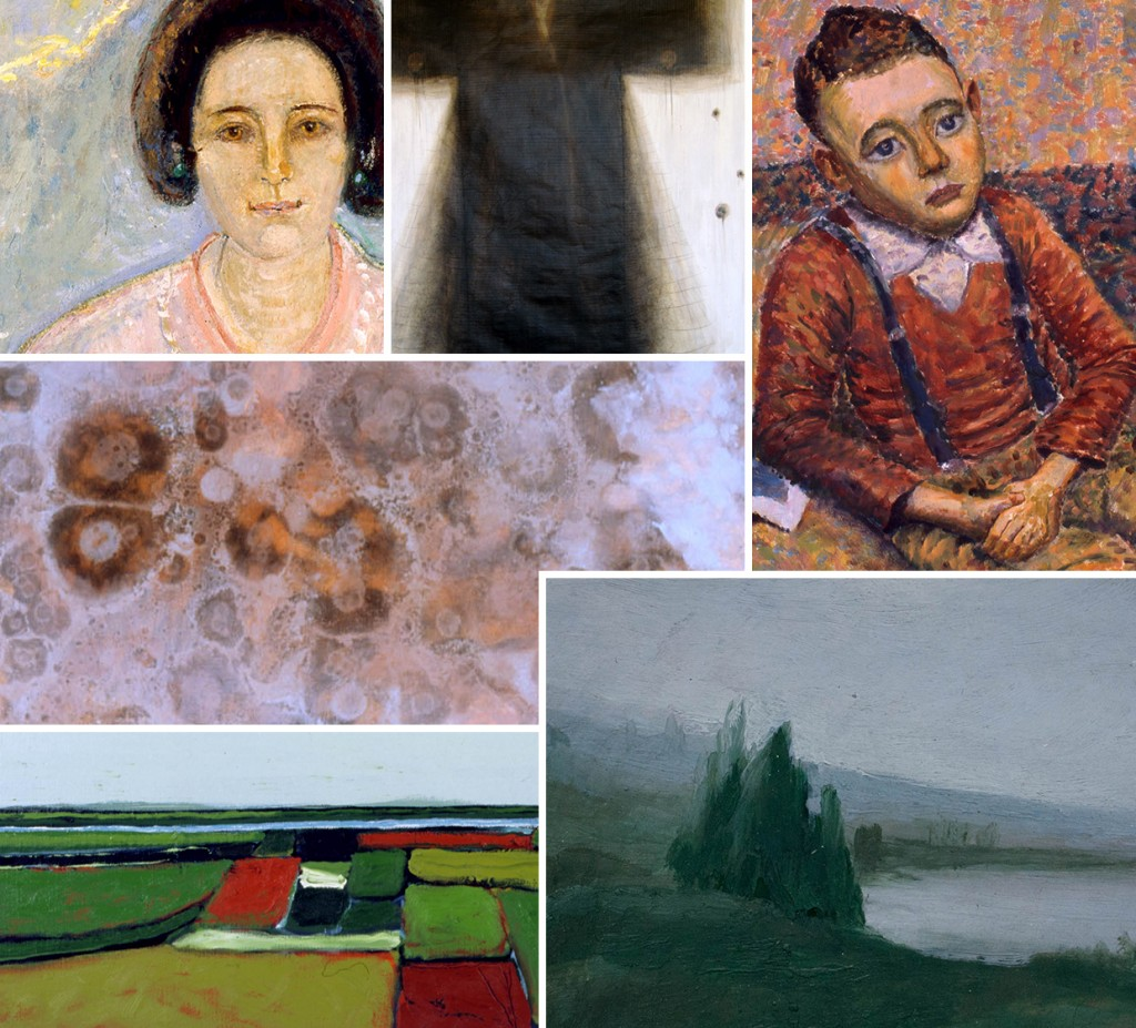 Selected works in 40 Years of collecting featuring Edith Holmes, Jill Ferral, Owen Lade, Philip Wolfhagen, Patrick Grieve & Anne Morrison