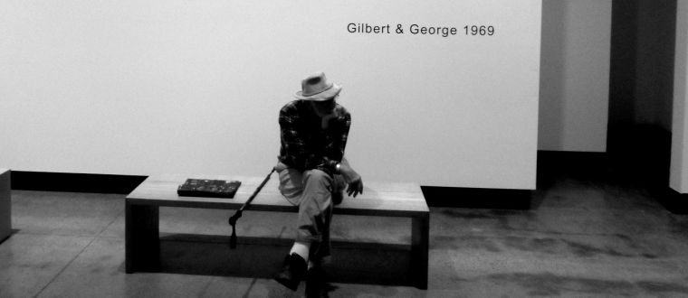 Gilbert and George exhibition at MONA