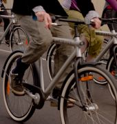 Image of people riding Artbikes