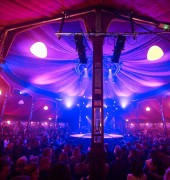 Spiegeltent Opening Night