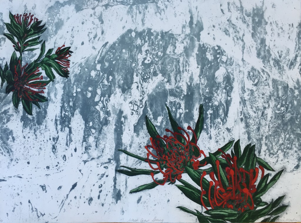 Etching and Aquatint - West Coast Spring