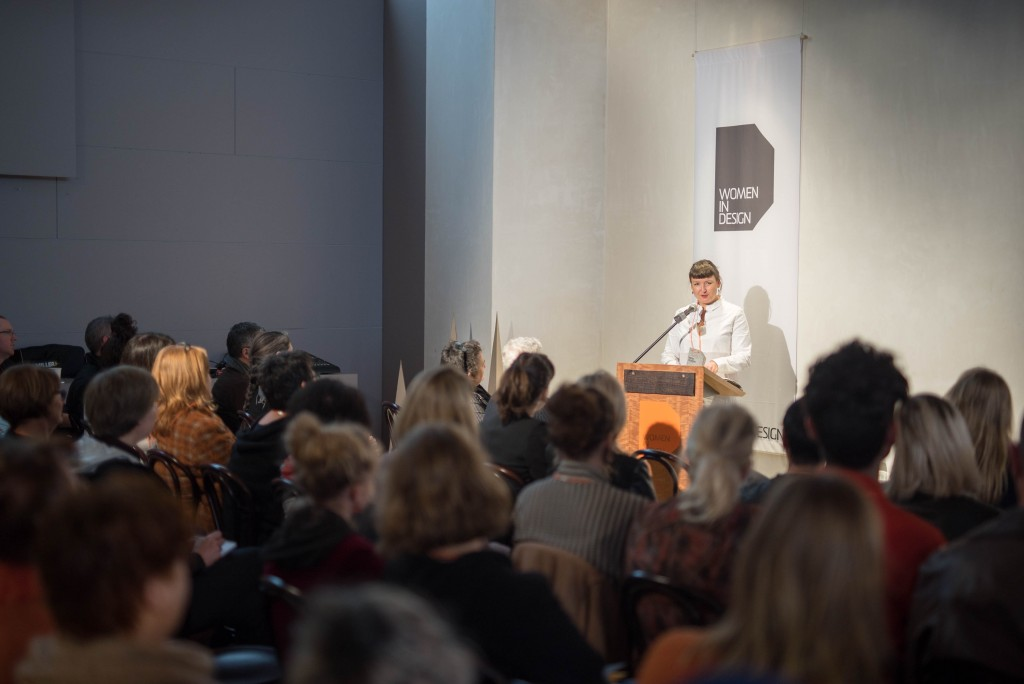 Pippa Dickson at Women in Design event