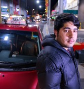 Afshin and taxi