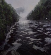Foam Lines-Cataract Gorge