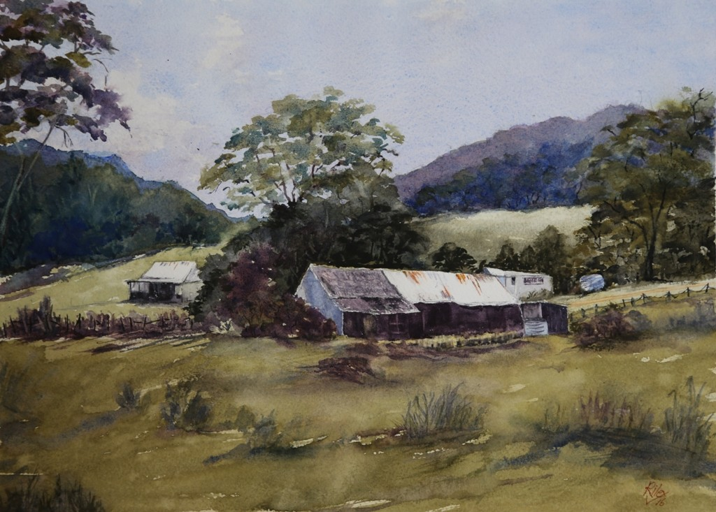 watercolour by Carolyn Riley