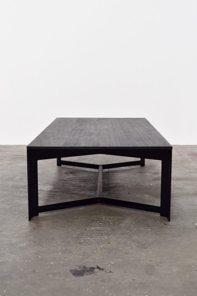 Wedge coffee table, Simon Ancher, 2018. Photographer: Lisa Ancher