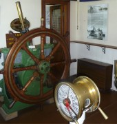 Image of interior of Low Head Pilot Station Museum