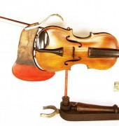 Reflective Violin - Invermay, Launceston. Ed King