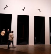 Entry to 'On the Origin of Art' exhibition at Mona