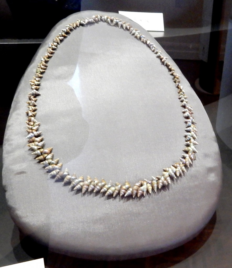 Necklace made by Pilunimina at the kanalaritja exhibition