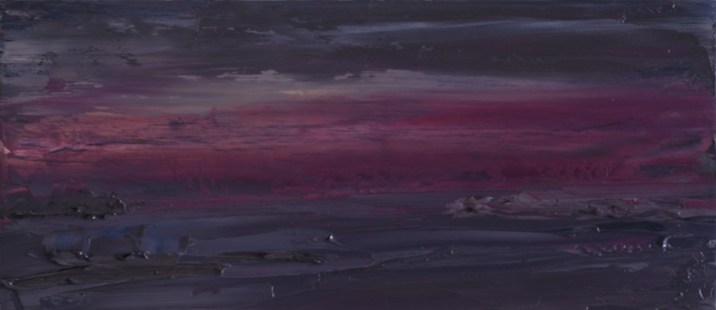 First Light On South Arm From Mt Wellington. Colour Study