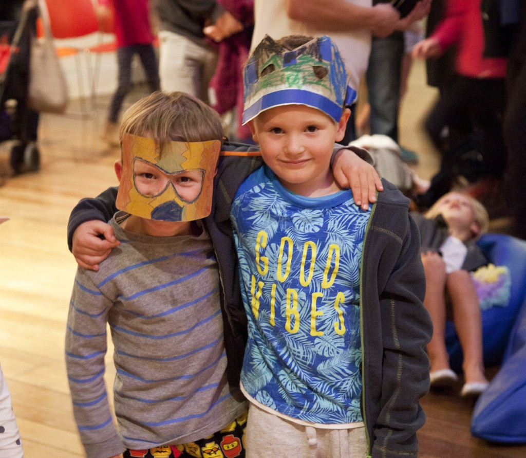 Young visitors at the inaugural TMAG Children's Festival in 2016. Image by Sarah Foley