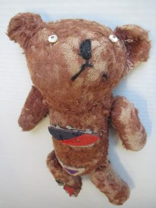 Bear from the collection of the Wynyard RSL Museum
