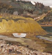 Fossil Bay and Boat