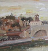 Sunrise, Tiber River, Travestere