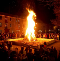 Big Sing Bonfire at Festival of Voices