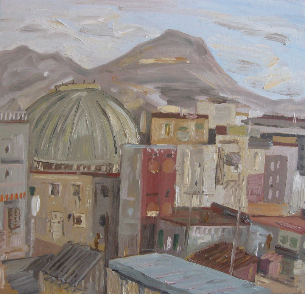 Vesuvius and Dome, Naples