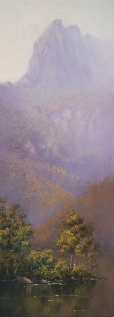 An Asian Perspective - Cradle Mountain II, 122 x 46cm