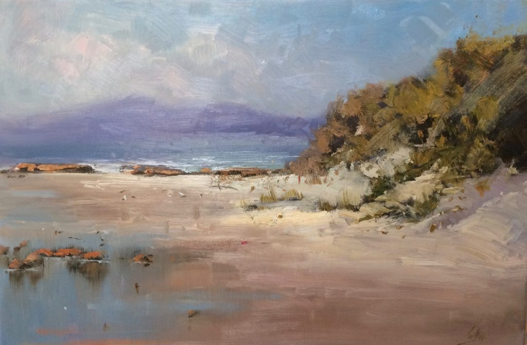 Bay of Fires - Policeman's Point, 30 x 40cm