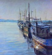 Fishing Boat Bridport - John Gill