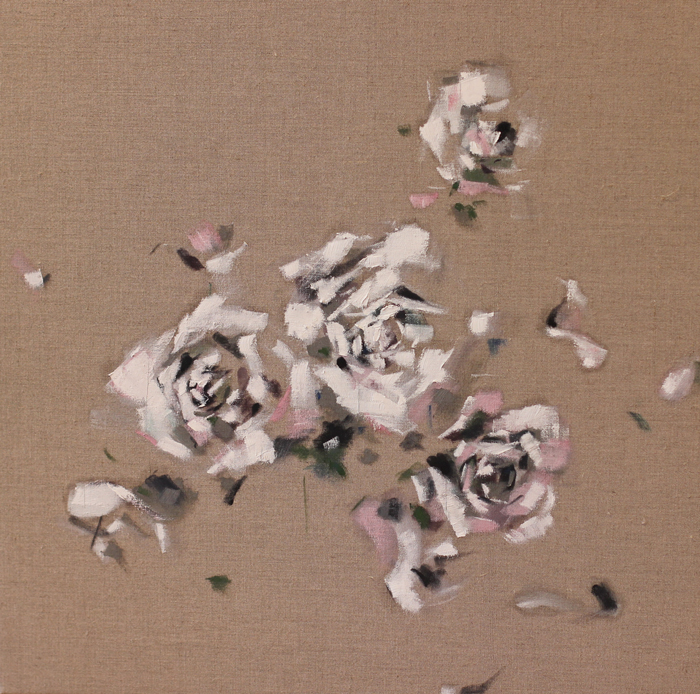 Nathan Grey - white flowers