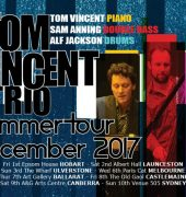 Tom Vincent Trio Summer Tour September 2017