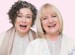 Judith Lucy and Denise Scott