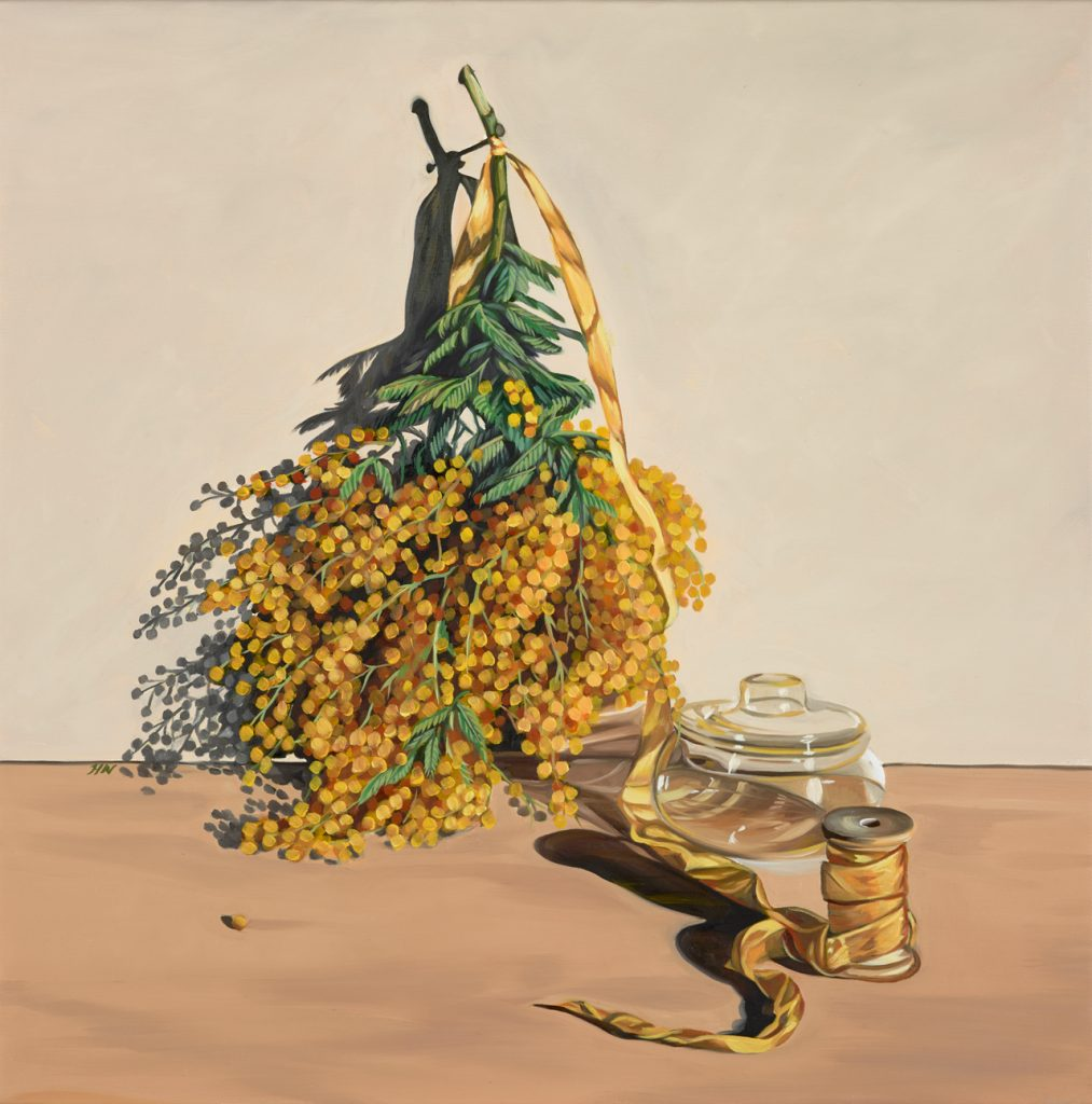 Woodhead, Heidi, 2017, Golden Hour, oil on linen, 76cm x 61cm