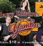 Harry Edwards Live at Yambu Banner