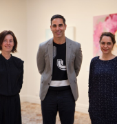 Hadley's Art Prize 2018 Judges. Image credit: Jessica King