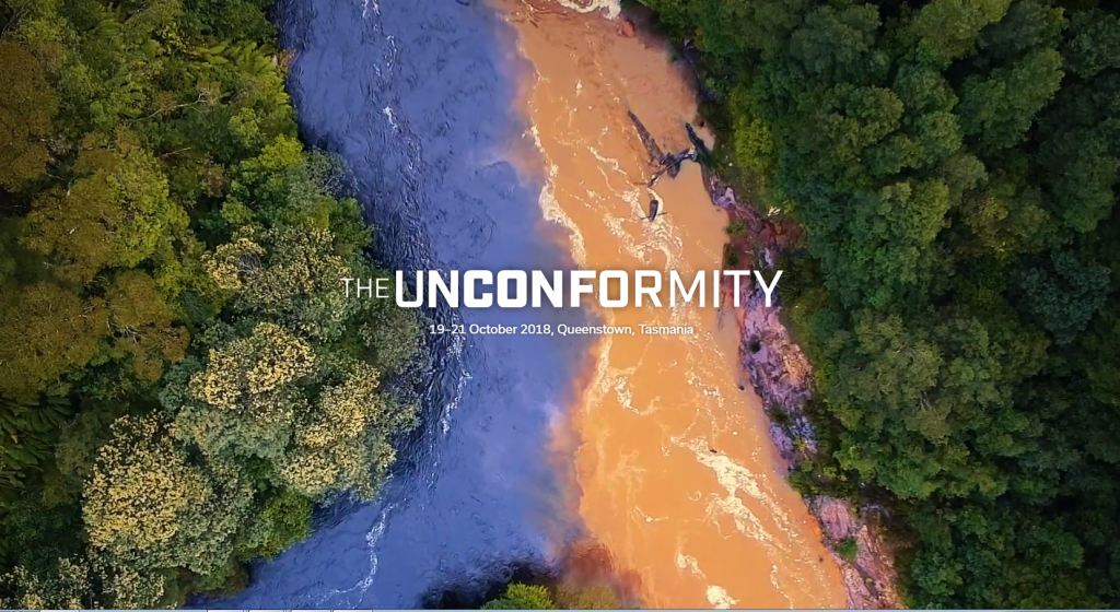 The Unconformity contemporary arts festival