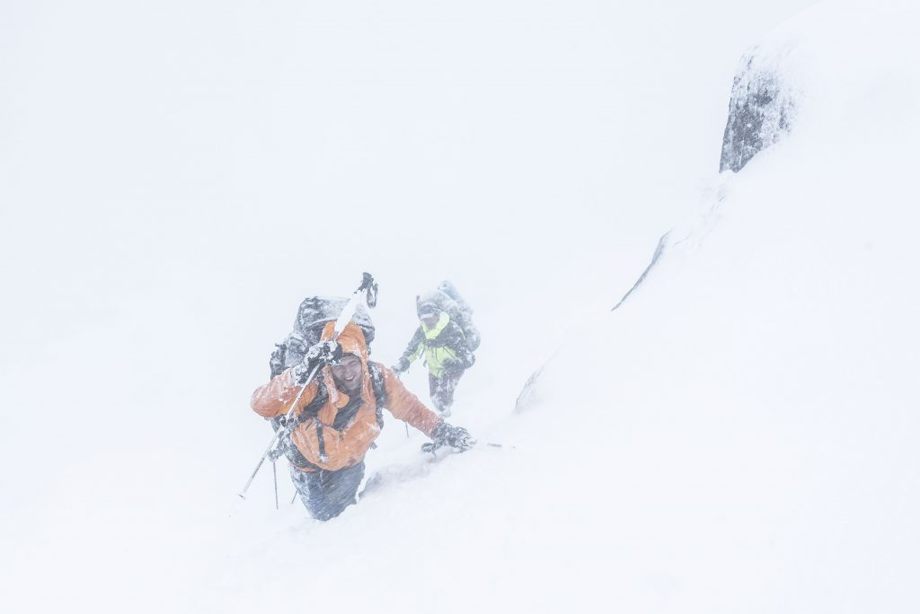 Blizzard, Mt King William, Richard Bugg, 2018
