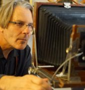 Phillip England and his Tintype camera