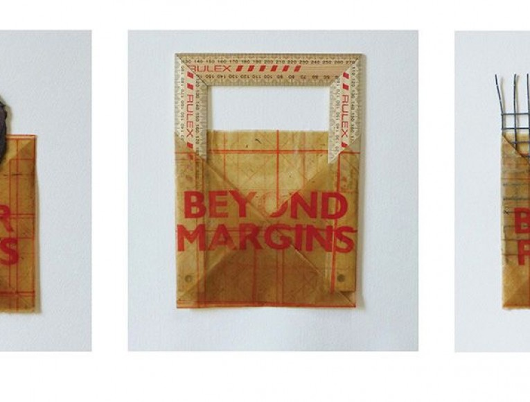 Patricia Wilson-Adams, Positions 1 to 3, letterpress on Chinese paper, wax, slate, wood and metal edition 1/4, Patricia WILSON-ADAMS