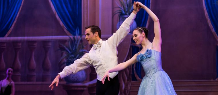The Victorian State Ballet presents CINDERELLA at the Theatre Royal, Hobart (photo credit: Ron Fung)