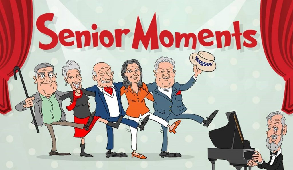 Return Fire Productions presents SENIOR MOMENTS
